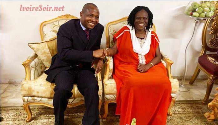 Kouadio Konan Siméon chez Simone Gbagbo le vendredi 24 août 2018
