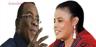 Pascal Affi N'Guessan et Véronique Aka
