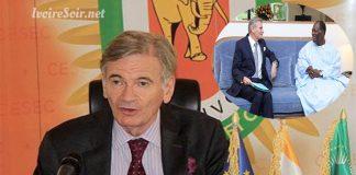 Jean-François Valette, chef de délégation de l'Union européenne