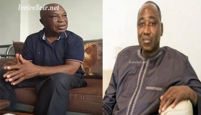 Assoa Adou et Amadou Gon Coulibaly