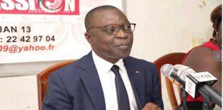 Amadou Koné, ministre des Transports
