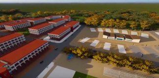 Plan de l'université de Man