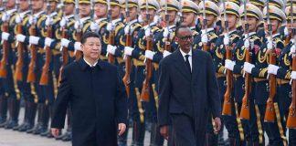 Xi Jinping et Paul Kagamé