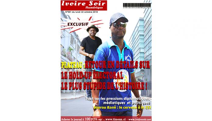 Ivoire Soir Numérique n°001 du lundi 22 octobre 2018