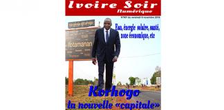 Ivoire Soir Numérique n°007 du vendredi 9 novembre 2018