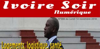 Ivoire Soir Numérique du lundi 12 novembre 2018