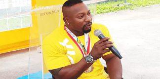 Alidou Diamouténé, champion paralympique