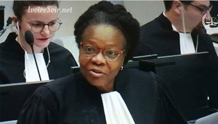 Me Agathe Baroan, avocate de Laurent Gbagbo