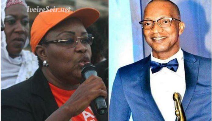 Rokeyatou Ouattara et Lanciné Sangaré