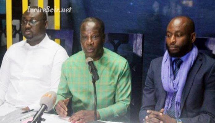 Djohoré Abel, Bema Fofana, et Kangbé Charles Lopez