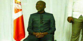 Innocent Gnelbin, président de Force aux peuples