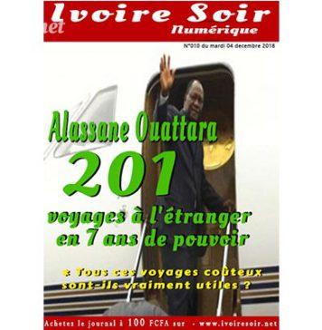 Ivoire Soir Numéique n°010 du mardi 4 décembre 2018