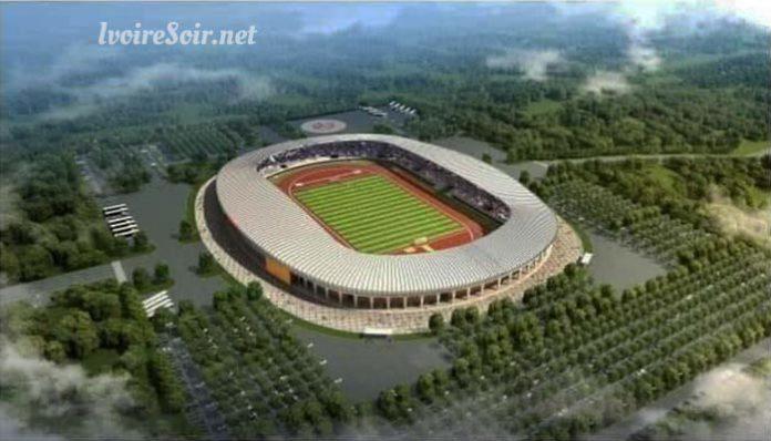 Maquette du stade de Korhogo
