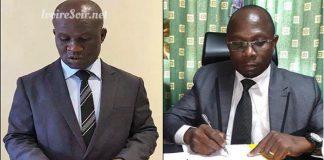Siaka Ouattara et Yao Rémi Ebrin du MFA