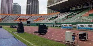 Le stade Houphouët-Boigny prêt à accueillir le congrès du RHDP