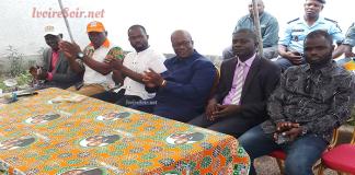 Intronisation des délégués UPCI et PIT du Plateau