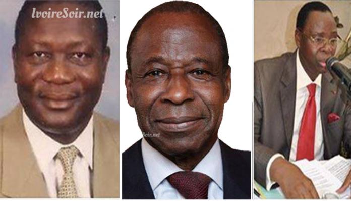 Lazare Yeboué, Essy Amara et Me Kosougro