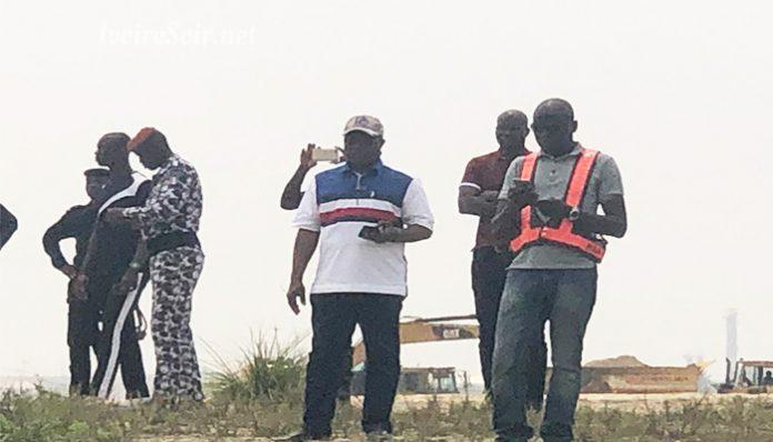Le site litigieux appartenant à SCI GERO et exproprié par le Port d'Abidjan