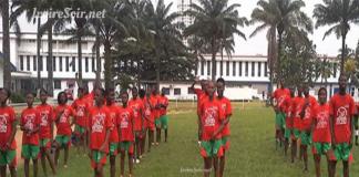 Elèves du Lycée classique d'Abidjan