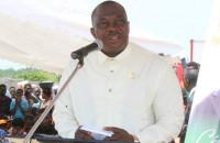 Kobenan Kouassi Adjoumani, parrain de la cérémonie d'investiture du maire Germain N'dri de Tiébissou ce samedi 30 mars 2019