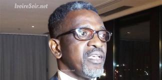Michel Russel Lohoré à la présentation de Who's Who in Côte d'Ivoire ce mercredi 27 mars 2019, à l'hôtel Pullman au Plateau