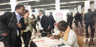 Lors de l'édition 2018, du Salon du livre de Paris