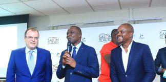 Salon de l'auto Abidjan Fabrice Sawegnon Voodoo