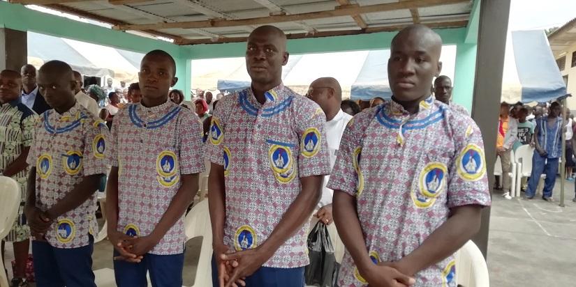 Abengourou: Sept prisonniers reçoivent le sacrement du baptême