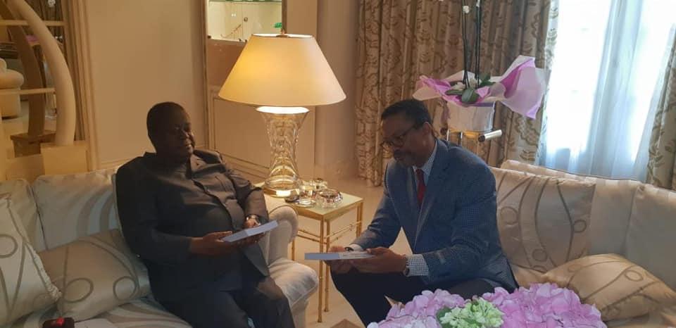 Franklin Nyamsi reçu par le président Bédié