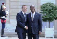 Macron Ouattara Elysée