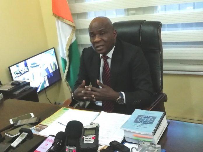 Le procureur de la République de Bouaké, Koné Braman,
