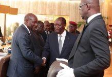 Ouattara-Ducun Conseil des ministres 2 octobre 2019