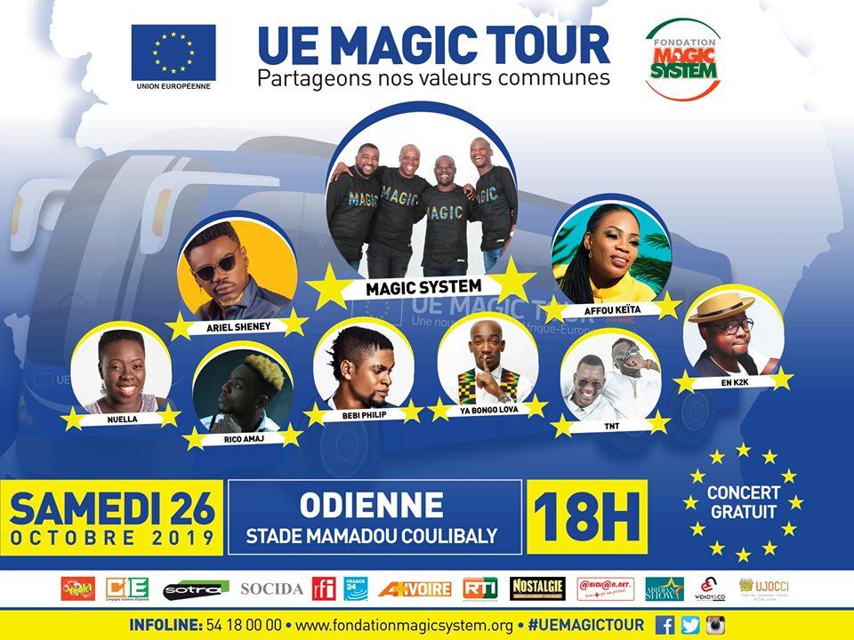 UE Magic Tour Odienné