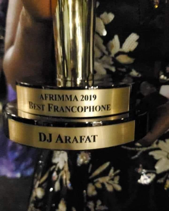 DJ Arafat, meilleur artiste francophone 2019