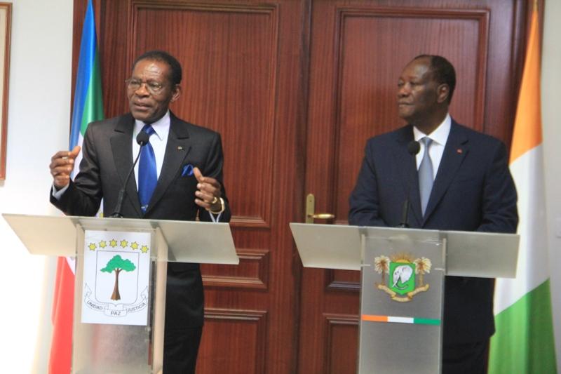 Le Président ivoirien :