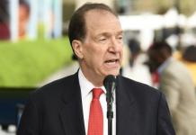 David Malpass, Président de la Banque Mondiale