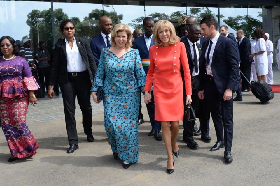 Brigitte Macron se lâche en Côte d'Ivoire : la Toile n'en revient pas
