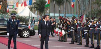 Macron à Abidjan le 21 décembre 2019