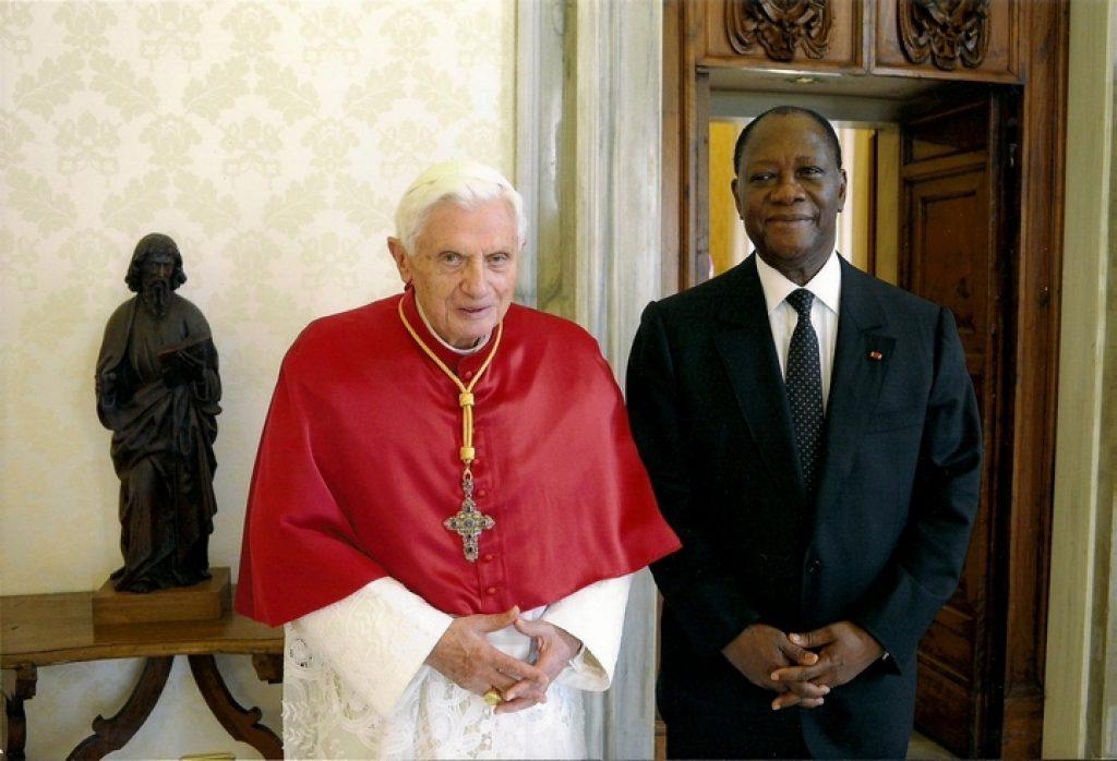Alassane Ouattara chez le Pape