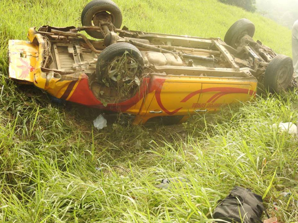 Accident sur l'autoroute du nord après Gesco : un véhicule ...