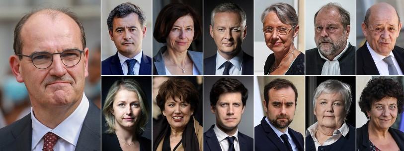 Gouvernement Jean Castex : liste des 31 ministres français - YECLO.com