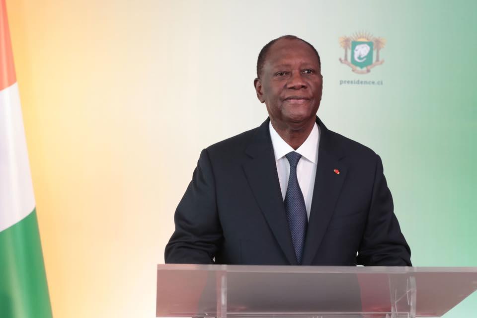 Alassane Ouattara annonce sa candidature pour un 3è mandat — Côte d'Ivoire