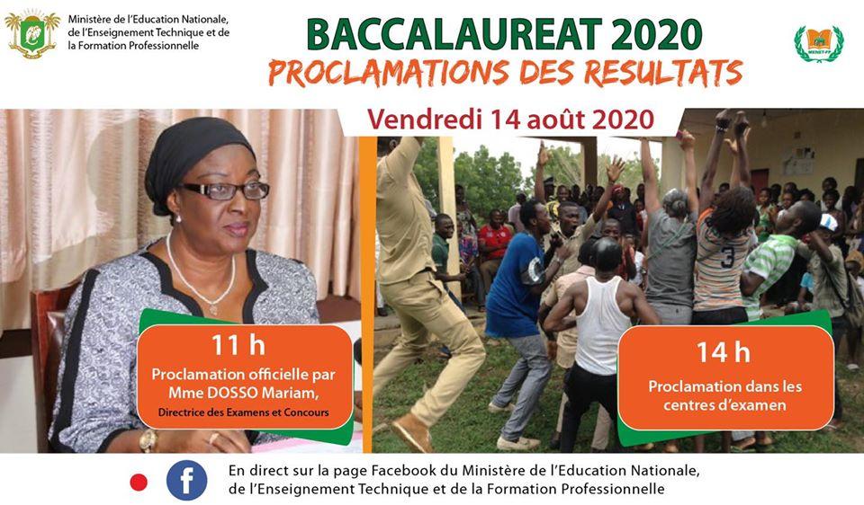 Côte d'Ivoire : voici le taux de réussite du BAC 2020 !