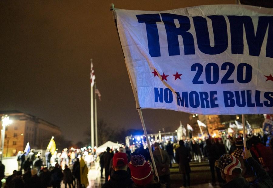 Le chaos dans le Capitole à Washington. Israël s'inquiète